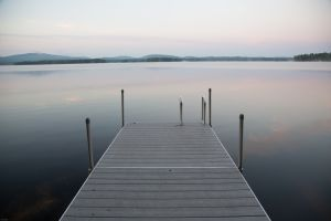 Dock at Lake Wentworth, Wolfeboro, NH